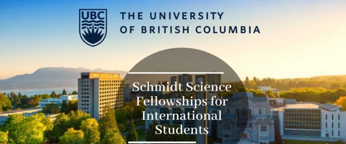 Schmidt Science Fellowships - Study in Canada - Annual Value $100,000