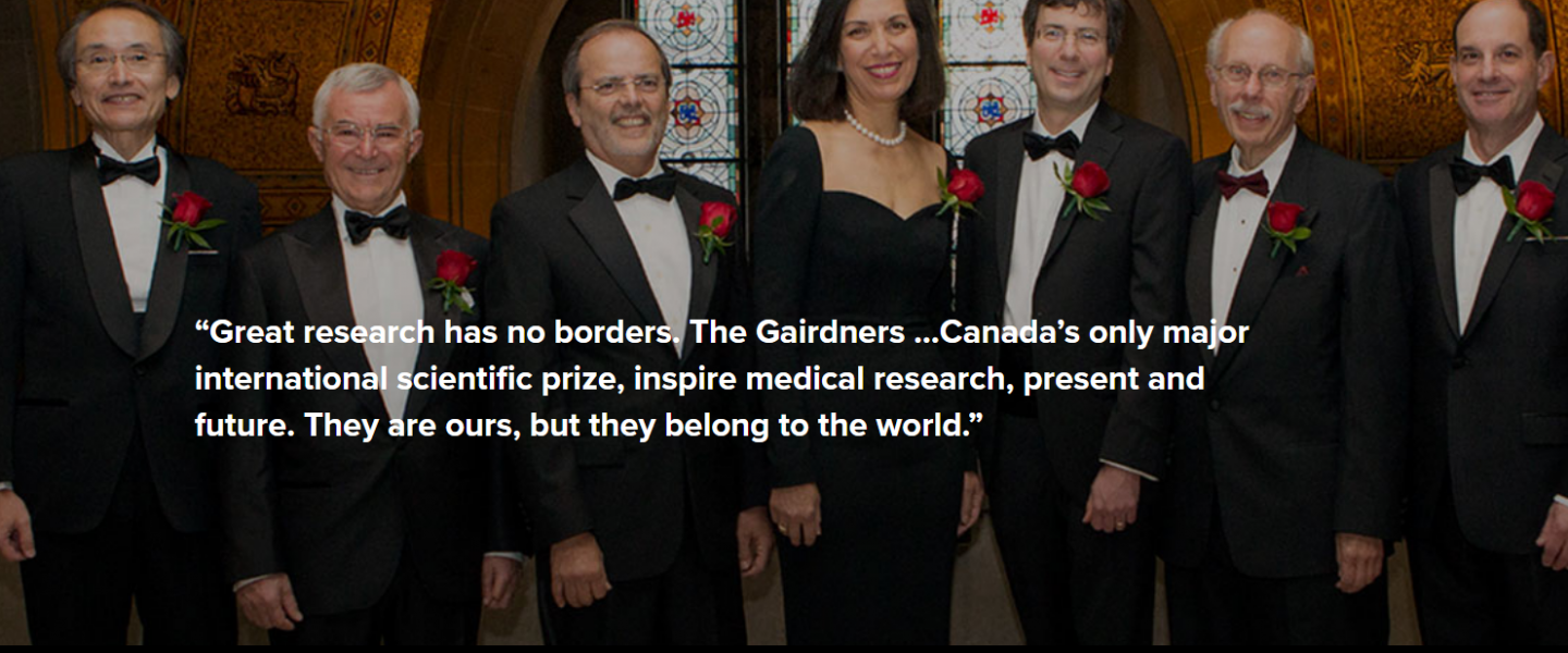 Submit A Gairdner Award Nomination $100,000 CDN