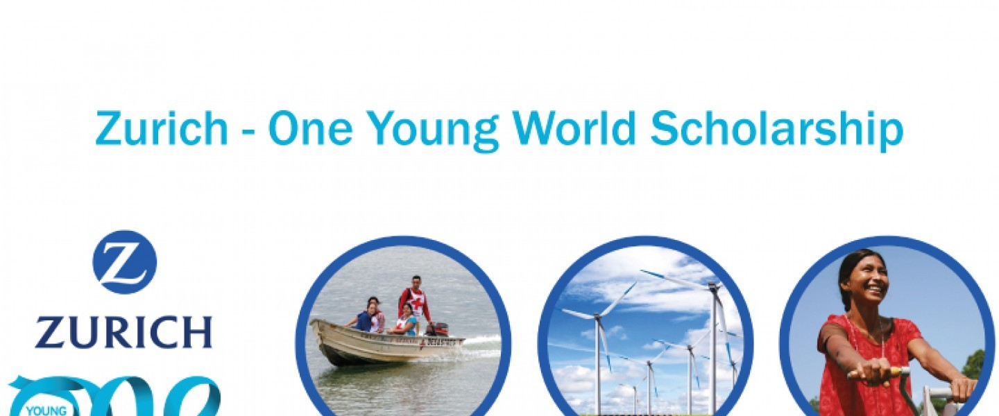 Zurich - One Young World Scholarship - Climate change, Wellbeing, Inclusion