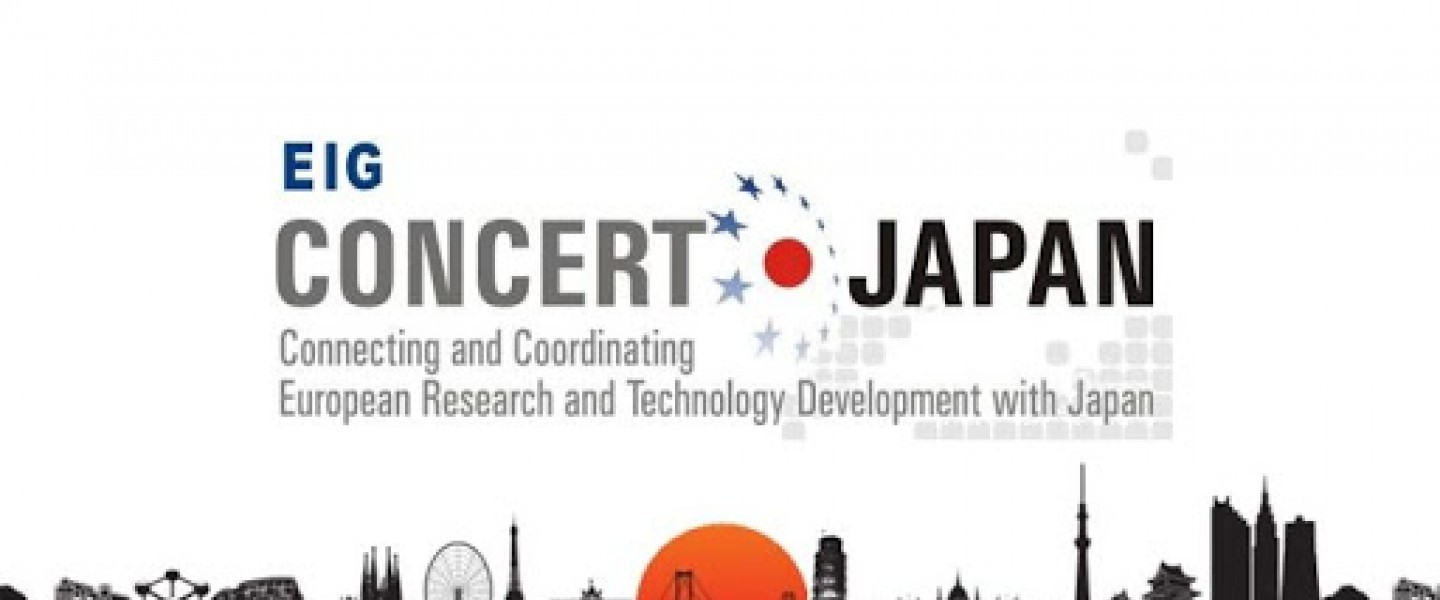 Joint Call for proposals of The European Interest Group (EIG) Concert-Japan has been launched!