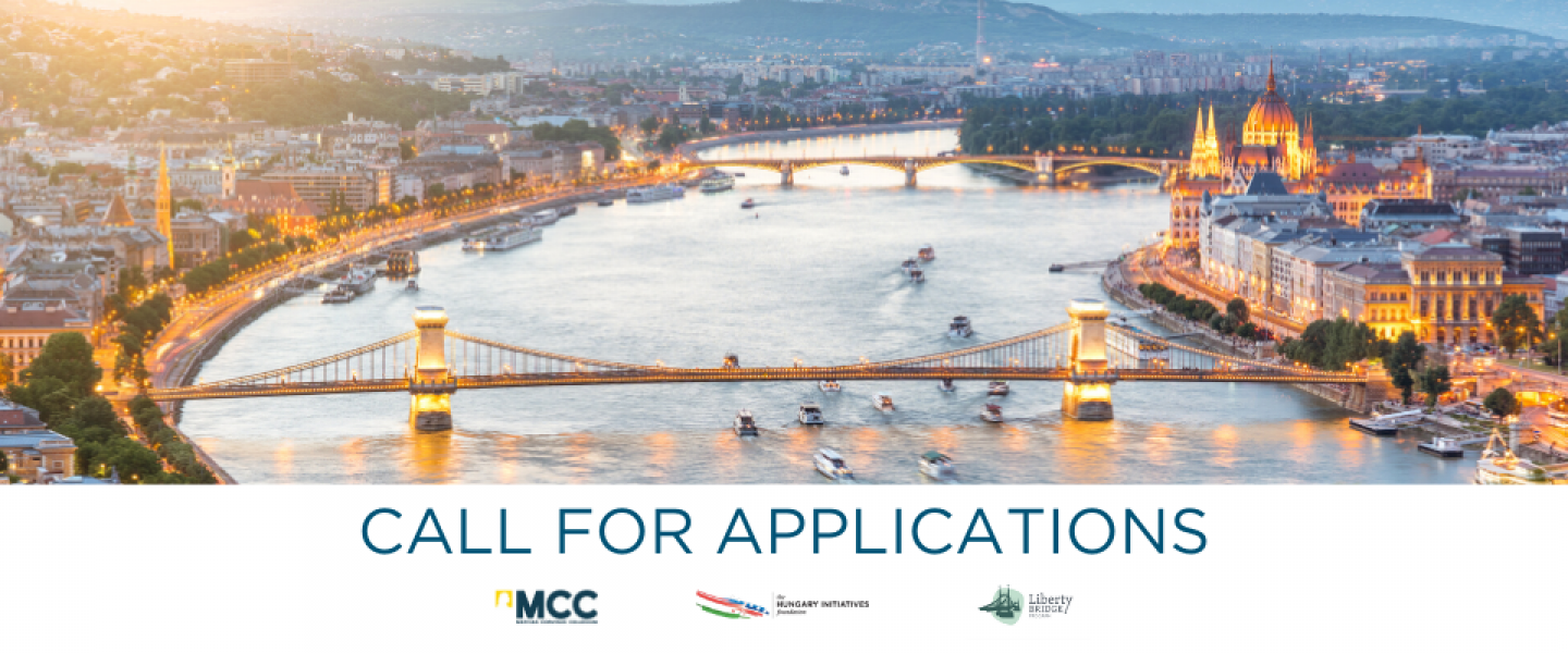 Budapest Fellowship Program for young American scholars and professionals.