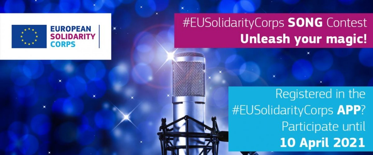 European Solidarity Corps song contest launched! Unleash your magic!