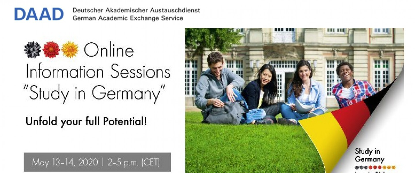 Study in Germany - Online Info Sessions South and Eastern Europe, Central Asia