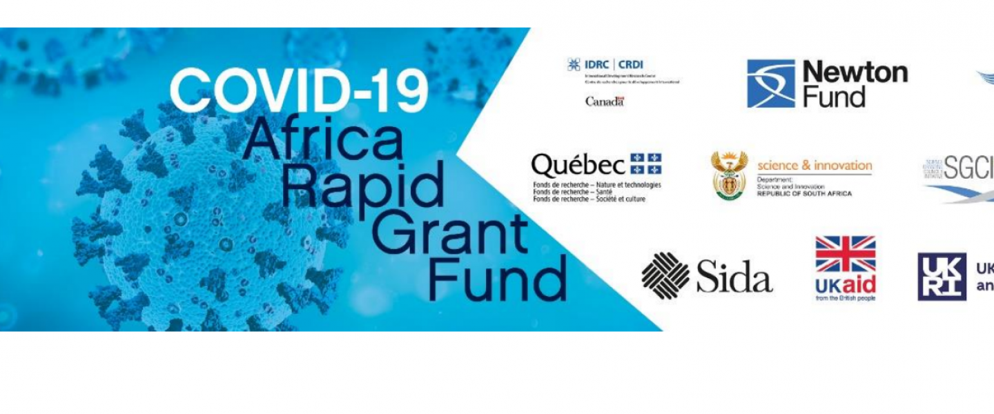 COVID-19 Africa Rapid Grant Fund - National Research Foundation