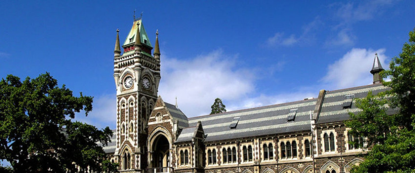 University of Otago New Zealand Master's Research Scholarship