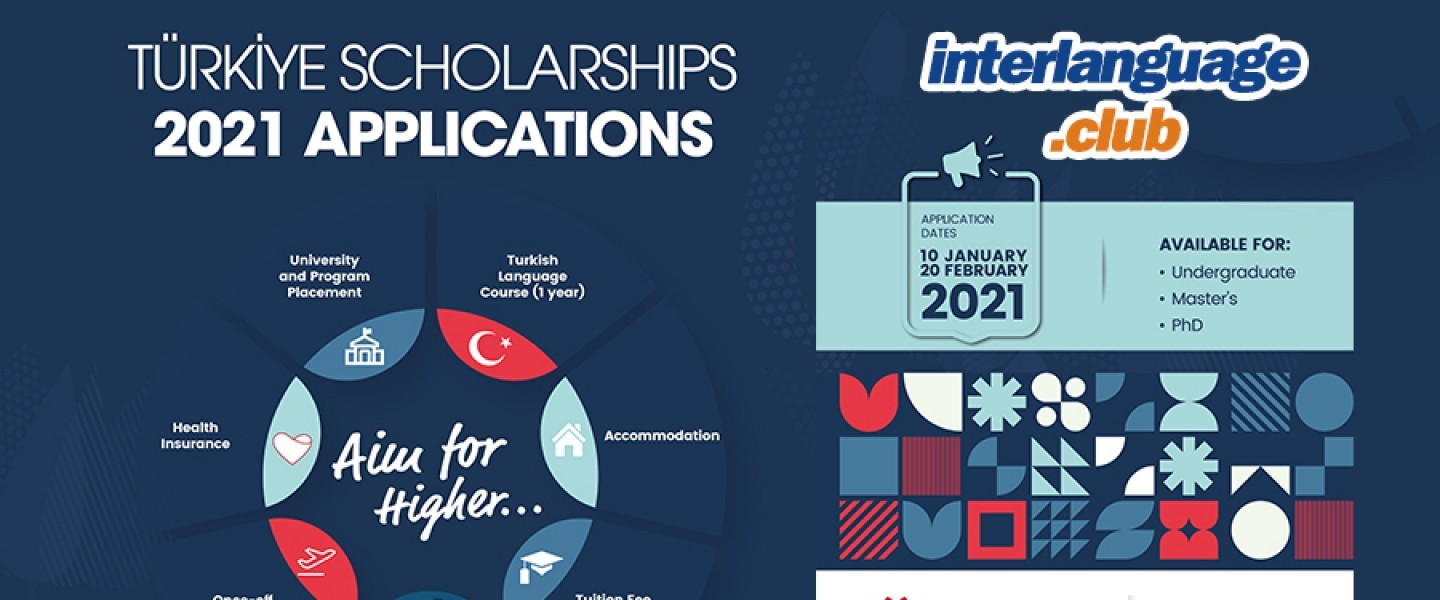 Turkey Scholarships 2021 - Fully Funded - Türkiye Scholarships