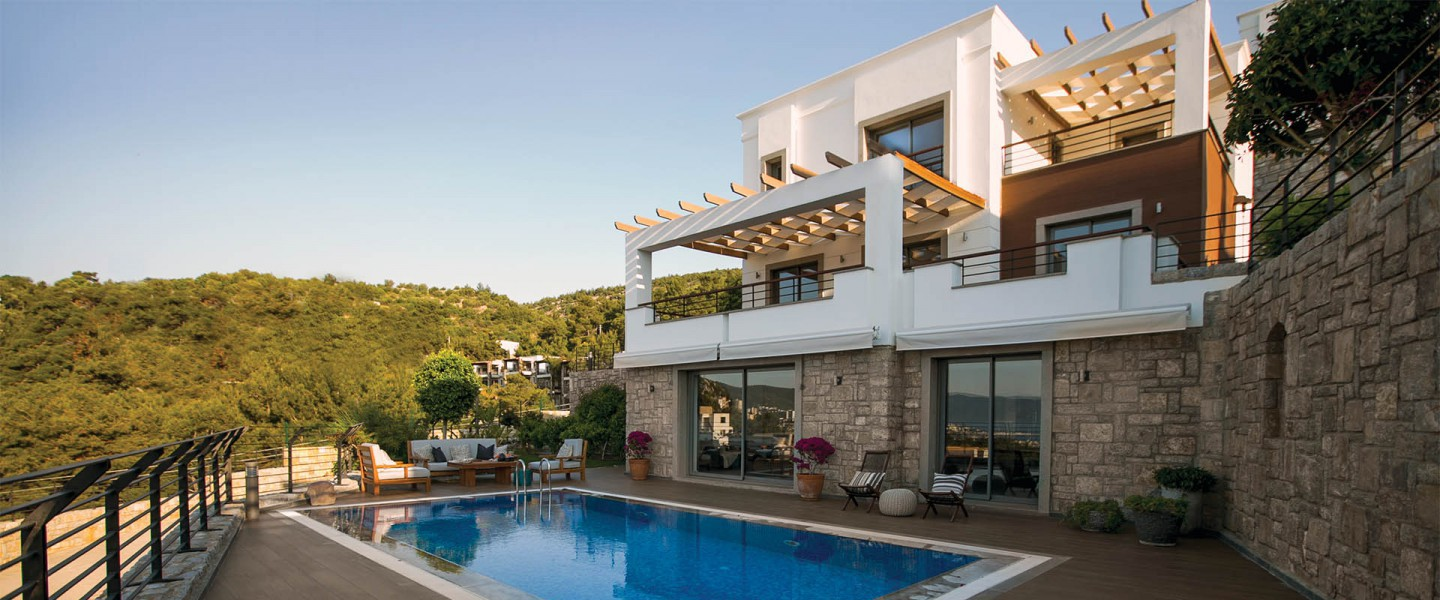 Villas in the heart of Bodrum, magical location of Aegean.