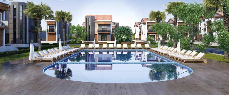 Modern Site Life Villas with Nature Intertwined Coastline in Dikili İzmir